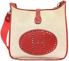 Hermes Evelyne leather handbag - RED - STYLE
