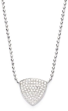 Bony Levy Women's 'Aurora' Diamond Pave Triangle Necklace (Limited Edition) (Nordstrom Exclusive)