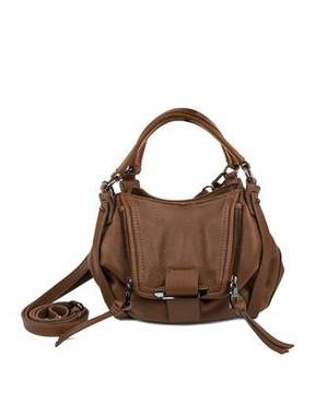 Kooba Jonnie Mini Leather Crossbody Bag, Caramel