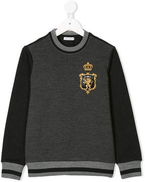 Dolce & Gabbana embroidered monogram jumper