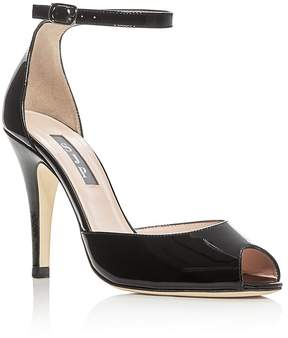 Sarah Jessica Parker Marquee Patent Leather High Heel Sandals - 100% Exclusive
