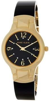Anne Klein Women's Two-Tone Diamond Bracelet Watch
