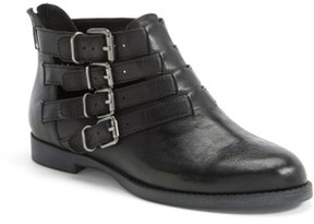 Bella Vita Women's 'Ronan' Buckle Leather Bootie