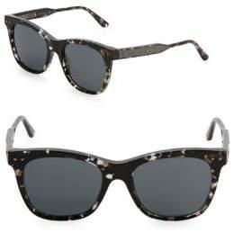Bottega Veneta 53MM Tortoiseshell Wayfarer Sunglasses