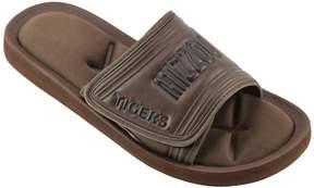 NCAA Men's Missouri Tigers Memory Foam Slide Sandals