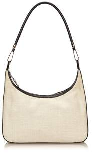 Gucci Pre-owned: Canvas Shoulder Bag. - WHITE X IVORY X BLACK - STYLE