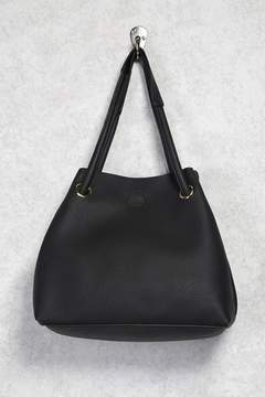 FOREVER 21 Pebbled Faux Leather Tote Bag
