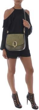 Michael Kors Delfina Shoulder Bag - VERDE SCURO - STYLE
