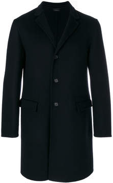 Jil Sander fitted button up coat