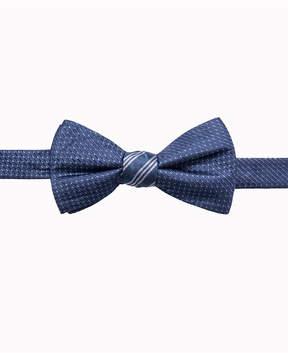 Ryan Seacrest Distinction Men's Reversible Stripe/Neat Two Side To-Tie Silk Bow Tie, Created for Macy's