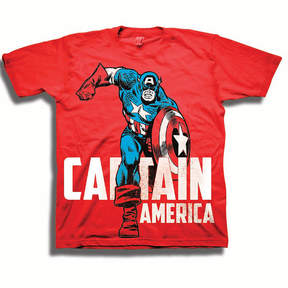 Freeze Toddler Boys Marvel Caption America Graphic T-Shirt