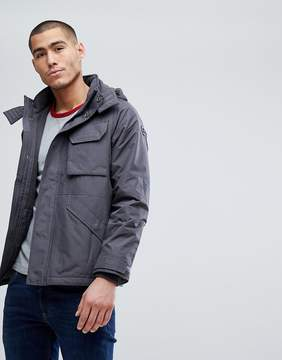 Abercrombie & Fitch Technical Jacket Midweight in Gray
