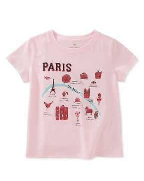 Kate Spade Paris Map Tee, Size 2-6