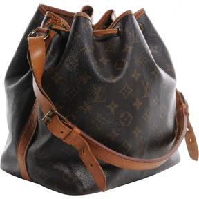 Louis Vuitton Noé cloth handbag - BROWN - STYLE