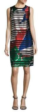 BOSS Danyna Printed Sheath Dress