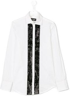 DSQUARED2 sequin stripe shirt