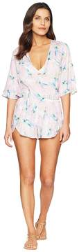 Bikini Lab THE Pastel Paradise Romper Cover-Up Women's Swimsuits One Piece