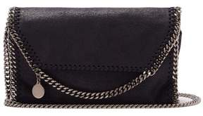 Stella McCartney Falabella Faux Leather Mini Cross Body Bag - Womens - Navy