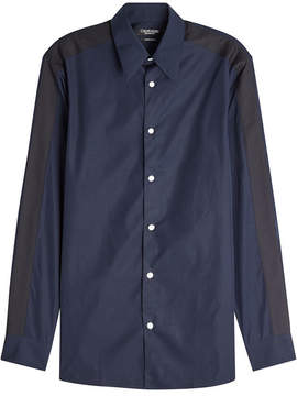Calvin Klein Two-Tone Cotton Shirt