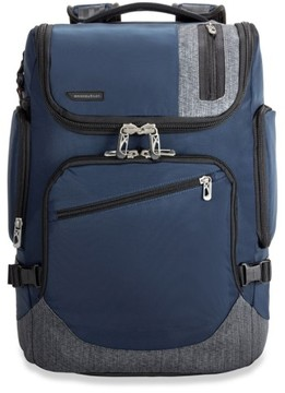Briggs & Riley Men's 'Brx - Excursion' Backpack - Blue