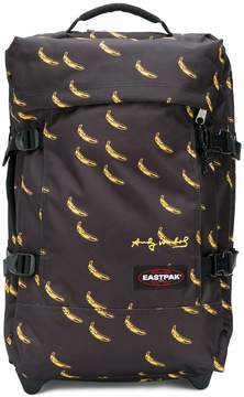 Eastpak banana print pull bag