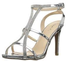 Qupid Women's Single Sole Heeled Sandal.