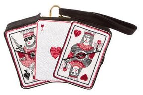 Olympia Le-Tan Playing Cards Clutch