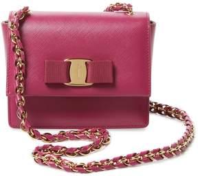 Salvatore Ferragamo Women's Ginny Mini Leather Crossbody