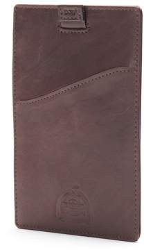 Dopp Carson Rfid-Blocking Leather Passport Sleeve Wallet