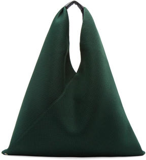 MM6 MAISON MARGIELA Green Mesh Tote