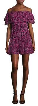 WAYF Floral Cold-Should Dress