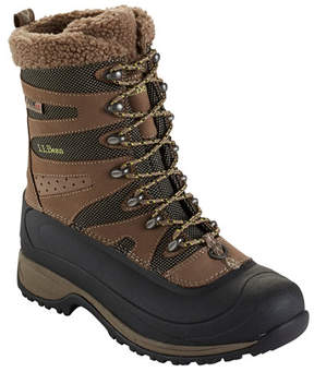L.L. Bean Women's Waterproof Wildcat Pro Boots, Insulated Lace-Up