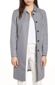 Anne Klein Gingham Coat