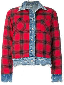 Amiri reversible trucker jacket