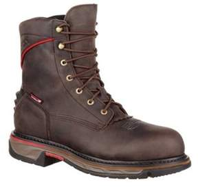 Rocky Men's 8 Iron Skull Ct Wp Western Boot Rkw0204.