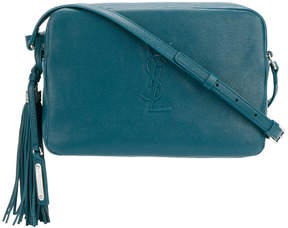 Saint Laurent Lou Camera shoulder bag - BLUE - STYLE