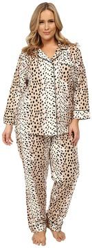 BedHead Plus Size Classic Flannel PJ Set
