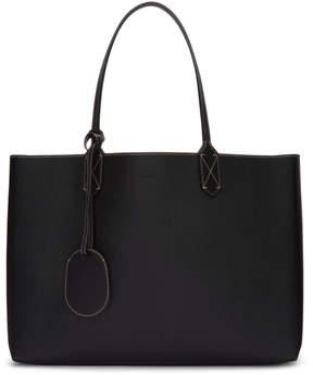 Gucci Reversible Black Leather and GG Supreme Tote