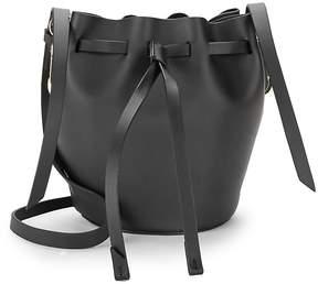 Zac Posen Women's Belay Mini Leather Bucket Bag