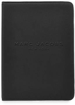Marc Jacobs Logo Debossed Tablet Notebook - BLACK - STYLE
