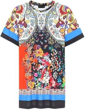 Etro Floral-printed cotton T-shirt