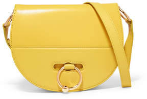 J.W.Anderson Latch Smooth And Textured-leather Shoulder Bag - Yellow