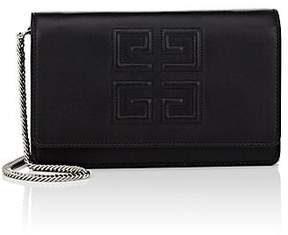 Givenchy Women's Emblem Leather Chain Wallet