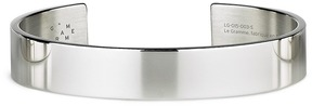 Le Gramme 'Le 33 Grammes' polished sterling silver cuff