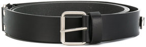 Rick Owens leather buckle belt