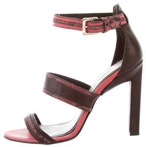 Jason Wu Embossed Raquel Sandals