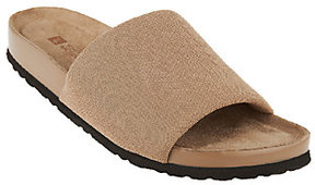 White Mountain As Is Slip-on Sandals - Helium