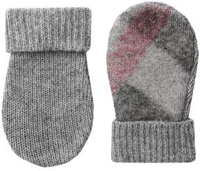 Burberry Needlepunch Mittens