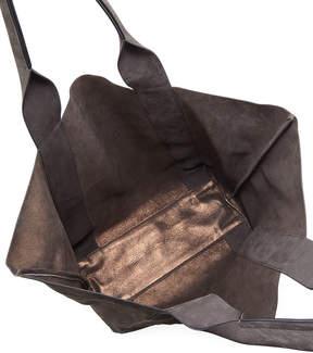 Brunello Cucinelli Reversible Leather Tote Bag