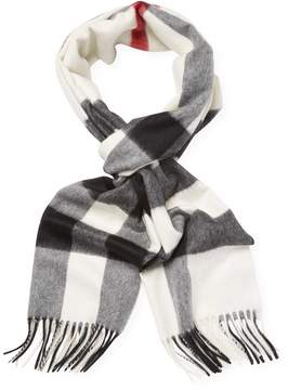Burberry Women's Cashmere Check Scarf
